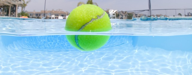 Pool-tennis-ball-banner